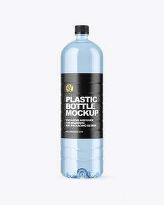 1.5L Blue Plastic Bottle Mockup Blue Bottle, Plastic Animals, Bottle Mockup, Creative Words, Plastic Bottles, Drink Bottles, Packaging Design, Beverage, Your Design