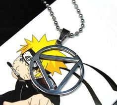 Naruto Hidan Necklace