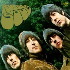 The Beatles 'Rubber Soul' LP Cover