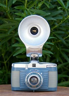 Vintage Tower No. 5 127mm Film Camera with Flash by CanemahStudios, $58.00