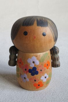 3 inch Japanese Old Sosaku Kokeshi doll 1991 : no signed | eBay