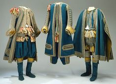 Sweden, livery uniforms, circa 1672