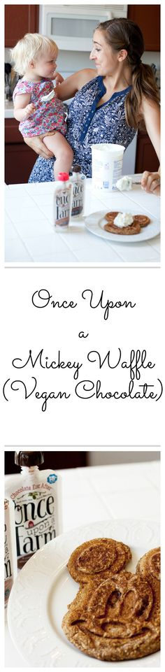 Once Upon a Mickey Waffle: Vegan Chocolate Waffles for the whole family, using…