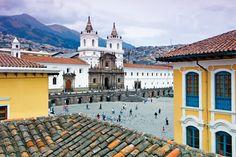 Iglesia de San Francisco- Quito- Ecuador