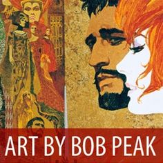 An exhibition of original paintings and final one-sheet posters showcasing the colorful, complex work of artist and designer Bob Peak. He has been hailed as 'the father of modern Hollywood movie posters'.