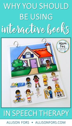 """What are interactive books? """"Interactive books"""" or """"adaptive books"""" is a general term for a book that requires participation from the reader. They can differ quite a bit – in how the participation occurs, as well as how they are setup. The downloadable interactive books you will find in the special education world will most …"""