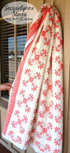Vintage Quilt @ Jacquelynne Steves
