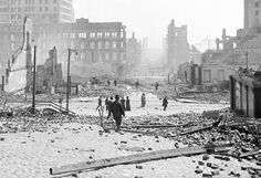 The Great San Francisco Earthquake | Via 110 years ago next week, on April 18, 1906, a magnitude 7.8 earthquake centered near the city of San Francisco struck at 5:15 AM. The intense shaking toppled hundreds of buildings, but the resulting...
