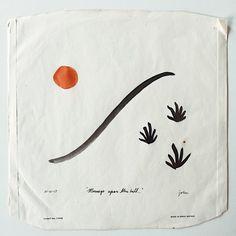 John Zabawa Mornings upon the hill, 2017 Ink on found vinyl Dust Cover x Simple Illustration, Heart Art, Art Inspo, Design Art, Graphic Design, Flag Design, Layout Design, Interior Design, Cover