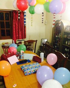 Many Happy Returns Of The Day Sis! Have a blast 🎁🎈🎉 #WakeUpForTheLittleSuprise 😇