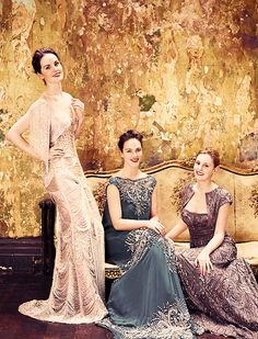Sisters of Downton Abbey