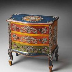 flower painted furniture - Google Search