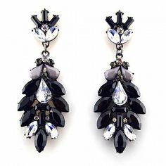 Statement Ohrringe BLAKE von TRENDOMLY JOLIE Bijouterie Earrings Jewelry Trend 2014