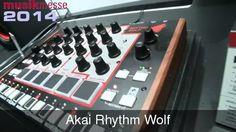 MESSE 2014: Akai Rhythm Wolf Analog Beats n Bass, Sweet rhythm and tweakery (Video)