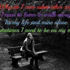 Sometimes you need some time alone... -Mental Health Center-