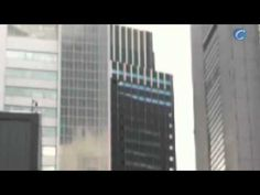 ▶ Skyscrapers swaying during earthquake    (ceresten, 2011)