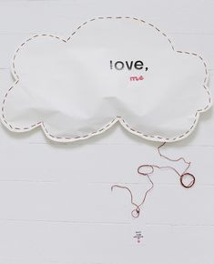 love struck pinata - with a change of wording, small versions would be adorable favors for a baby or bridal shower