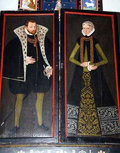 Poul Laxmand til Stenholt d.1557 Thale Holgersdatter Ulfstand d. 1604 Altertavle fra 1588 1580-89 Sverige Renaissance Fashion, Renesanssi, Baroque