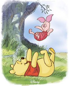 Pals since page one. National Best Friends Day. Winnie the Pooh, June 2017