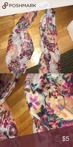 Merona Scarf Floral Fallish Merona Scarf Merona Accessories Scarves & Wraps
