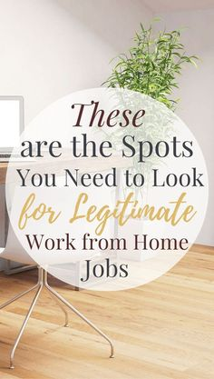 When you're ready to work from home, these are the spots you need to check for legitimate remote-friendly, virtual, and work from home jobs! Earn Money From Home, Stay At Home, Way To Make Money, Work From Home Opportunities, Work From Home Tips, Home Based Business, Online Business, Business Ideas, Business Planning