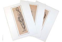 1950s French Nudes, S/3 on OneKingsLane.com