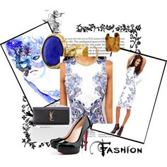 """""""Outfit fit for the races."""" by furlongfashion on Polyvore Doncaster St Leger Horse Racing Fashion Furlong Fashion  www.furlongfashion.com"""