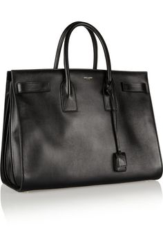 Black leather (Calf) Open top Comes with dust bag