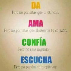 """Find and save images from the """"buenas palabras~"""" collection by Jeny Lopez Or (jeny_lopez_or) on We Heart It, your everyday app to get lost in what you love. Reiki, Best Quotes, Life Quotes, Smart Quotes, Bitch Quotes, Awesome Quotes, Coaching, More Than Words, Spanish Quotes"""
