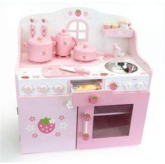Mother Garden Strawberry Cutie Deluxe Kitchen