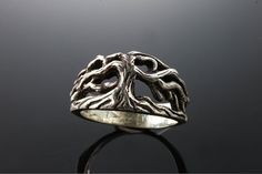 Sterling Silver Tree of Life ring by CavalloFineJewelry on Etsy, $79.00