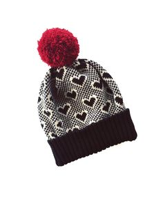 f674124711f Valentines Knit Gift Outdoors Valentines gift 2018 Pompom Hat Merino Wool  Beanie Winter Hats Pompom Giant Love Knit Gift clothing Outdoors