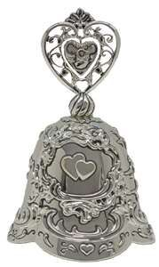 Traditional Irish wedding bell- Bell is rung to announce that the bride has arrived as she walks down the aisle.