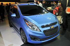 Четыре Chevrolet Spark 2012–года