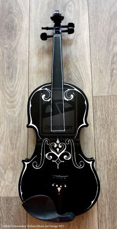 violin fantasy 1 front design by ~Hollow-Moon-Art on deviantART