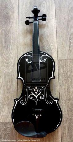 violin fantasy 1 front design by ~Hollow-Moon-Art on deviantART