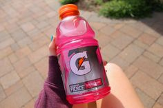 QOTD: What is your favorite Gatorade flavor?    AOTD: I like the lemon-lime!! (The green/yellow one)