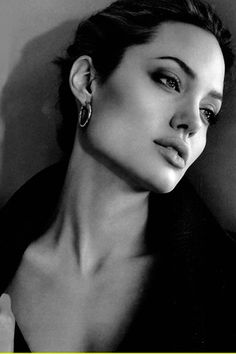Angelina Jolie... love her or hate her, she's undeniably beautiful