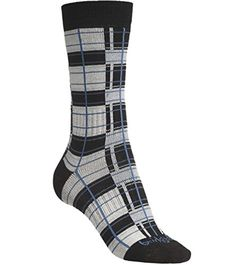 Bridgedale Womens Plaid Sock Natural Medium ** Click on the image for additional details.