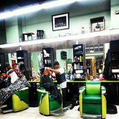 Vintage barber shop. Photo by mreast_hayes