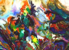 Truong Buu Giam ~ Abstract impressionism painter