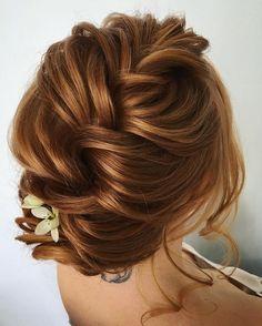 Best Wedding Hairstyles With Headband Braided Hairstyles For Wedding, Bride Hairstyles, Pretty Hairstyles, Easy Hairstyles, Braided Updo, Hairstyle Ideas, Hairstyle Wedding, Messy Updo, Messy Bridal Hair