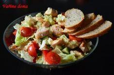 Zeleninový salát s kuřecím masem Cobb Salad, Meat, Chicken, Food, Essen, Meals, Yemek, Eten, Cubs