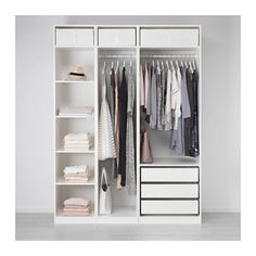 Ikea Pax Closet Marvelous Design by no means go out of types. Ikea Pax Closet Marvelous Design may be ornamented in several m Ikea Pax Wardrobe, Bedroom Wardrobe, Wardrobe Closet, Ikea Closet, Wardrobe Ideas, Corner Wardrobe, Small Wardrobe, Closet Doors, Wardrobe Shelving