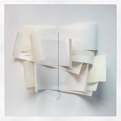 Shadows and layers....#newwork #paper #layers #collage #art #artist #contemporaryart #artwork #instaart #instalike #instagood #white #shadow #sophieklerk