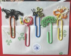 Singtatters Corner: Super cute paperclip tatting!