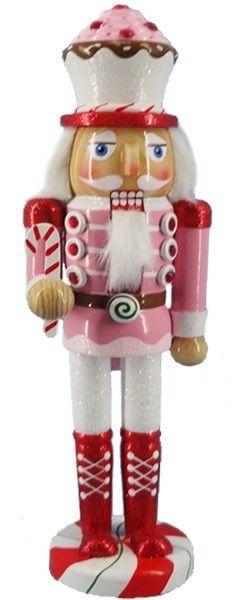 Retail - Nutcracker Ballet Gifts - N1211: 12 inch Nutcracker - Cupcake, $14.00 (http://www.nutcrackerballetgifts.com/12-cupcake/)