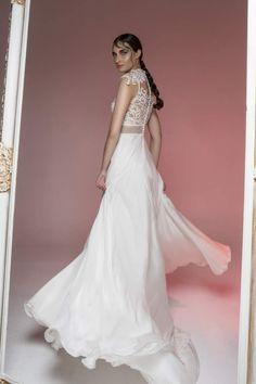 image016 Boho Bride, One Shoulder Wedding Dress, Bridal, Wedding Dresses, Illusion, Beach, Fashion, Moda, Bridal Dresses