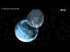 2012 DA14 transita a unos 27.700 kilómetros de distancia de la superficie terrestre este viernes, 15 de febrero. Será el asteroide que más cerca transite de la Tierra desde que se pueden estudiar las órbitas de estos objetos, aunque no podrá verse a simple vista.