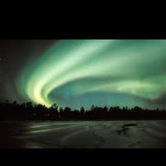 Aurora borealis -Lapland sky